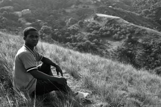 cange-kid on hill
